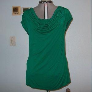 Adrienne Vittadini Studio Size XL Green Blouse